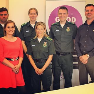 South Western Ambulance Service at GoodCall Prague premises interviewing Czech paramedics.