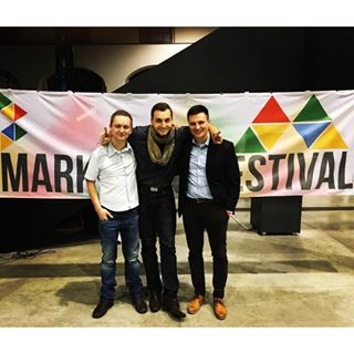 GoodCallers Jose, Vlada and Tomas at Marketing Festival. #mktfest