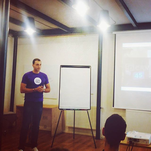 José na GoodCall Inspiration Day o tzv. video approach v recruitmentu. #recruitment #innovation #video