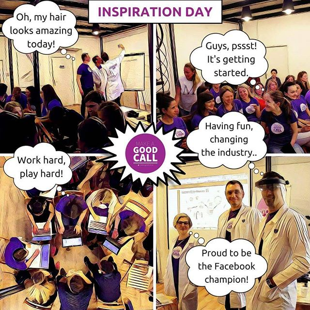 So here are some of the thoughts and conversatioms we had during our first Inspiration day. Loolimg forward to the next round!!! #inspiration #inspirationday #goodcall #recruitment