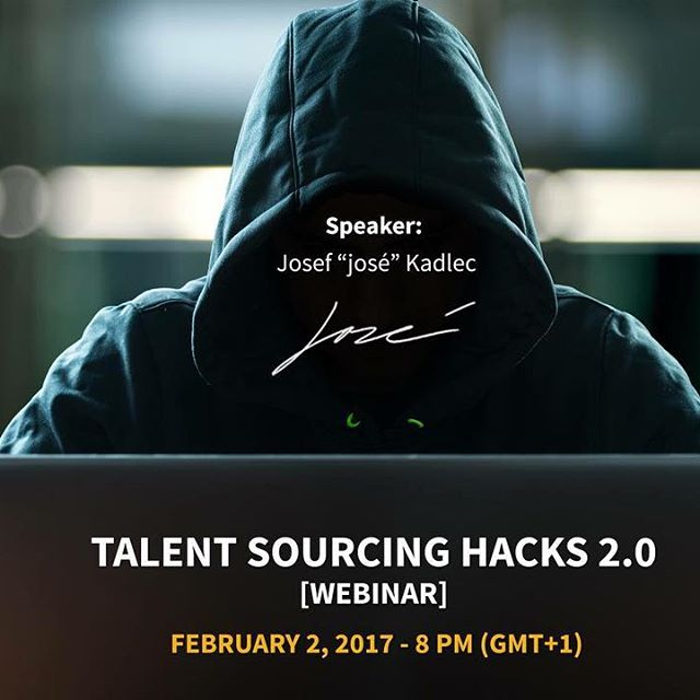 WARNING: This webinar is for the brave recruiters/sourcers only! ☝🏼️🚷🔍 More info on our web and FB. ⚠️#recruitmentacademy #sourcinghacks