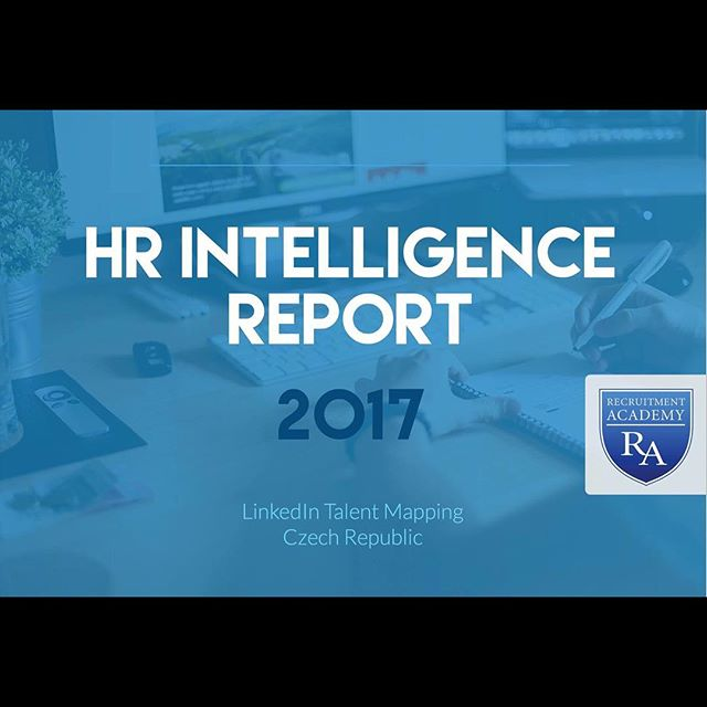 Finally - IT IS HERE! Our HR Intelligence Report 2017. We did a complex talent mapping research in Czech Republic and some facts will for sure surprise you. How many accountants are LinkedIn members? What university is the best choice for your career in IT? Is your company in TOP 10? We know the answers! And what is the best thing? You can download this report for FREE here: http://hr-report.recruitmentacademy.cz/ #recruitmentacademy #HRReport #socialmedia #talentsourcing