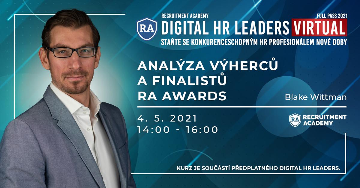 Analyza vyhercu a finalistu RA Awards
