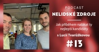 Podcast No 13: Jak příběhem nalákat ty nejlepší kandidáty s Lucií Tvarůžkovou (ex-CEO Zonky)