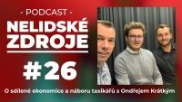 Podcast No 26: O sdílené ekonomice a náboru taxikářů s Ondřejem Krátkým, CEO Liftago