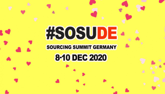 8. - 10. 12. 2020: Sourcing Summit Germany
