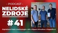 PODCAST No 41: Digitalizace firem a technologie v HR s Filipem Dřímalkou z Digiskills.cz