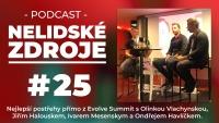 Podcast No 25: Nejlepší postřehy z Evolve Summit přímo z pódia se 4 speciálními hosty