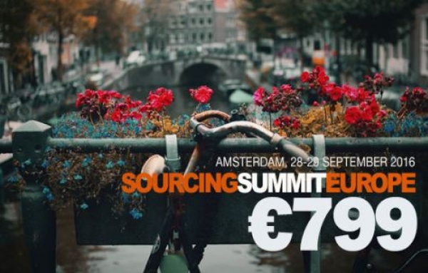 Sourcing Summit Europe Amsterdam