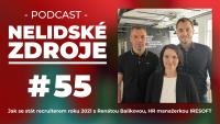 PODCAST No 55: Jak se stát recruiterem roku 2021 s Renátou Balíkovou, HR manažerkou IReSoft