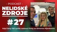 PODCAST No 27: Když ženy řídí rychle rostoucí firmy se Simonou Kijonkovou, zakladatelkou Zásilkovna.cz