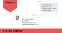 Poezie na LinkedInu? Příklady zveršovaných konverzací s kandidáty | Hireconomics 5