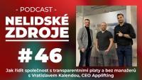 PODCAST No 46: Jak řídit společnost s transparentními platy a bez manažerů s Vratislavem Kalendou, CEO Applifting
