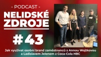 PODCAST No 43: Jak využívat osobní brand zaměstnanců s Annou Wojtkovou a Ladislavem Jelenem z Coca-Cola HBC