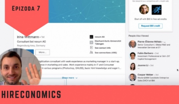 Oslovujte kandidáty videem na dva kliky | Hireconomics 7