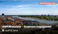 13. dubna 2016: #HRUBratislava – Employee Engagement