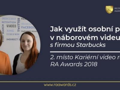Jak využít osobní příběh v náborovém videu - s firmou Starbucks
