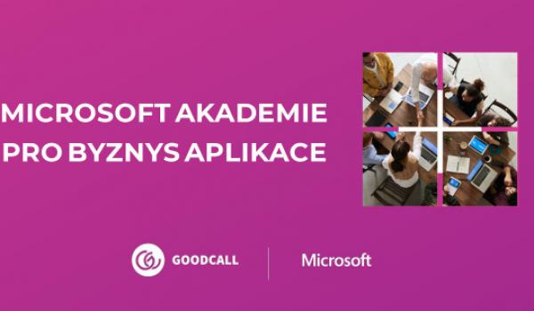 Microsoft online a zdarma vzdělává zájemce o byznys aplikace v GoodCall MS akademii