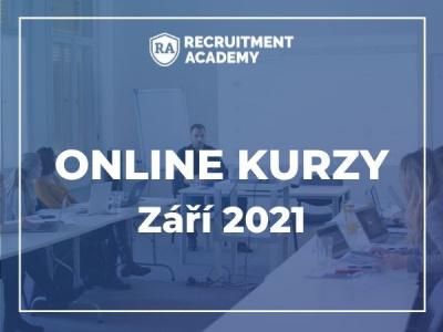 Září 2021: Online kurzy v Recruitment Academy
