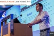 5. dubna 2016: Universum Awards Czech Republic 2016