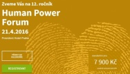 21. dubna 2016: Human Power Forum 2016