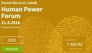 21. dubna 2016: Human Power Forum 2016
